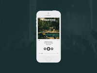 Daily UI Challenge | Day Nine | Music Player