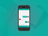 Daily UI Challenge | Day Thirteen | Direct Messaging