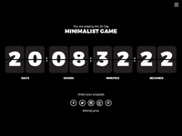 Daily UI Challenge | Day Fourteen | Countdown Timer