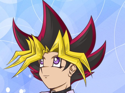 Yugi Mutou fanart yugioh yugimoto yugiohdm yugiohdm characterdesign yugioh anime yugioh anime design illustration