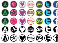 Social Design Icons, Sneak Preview