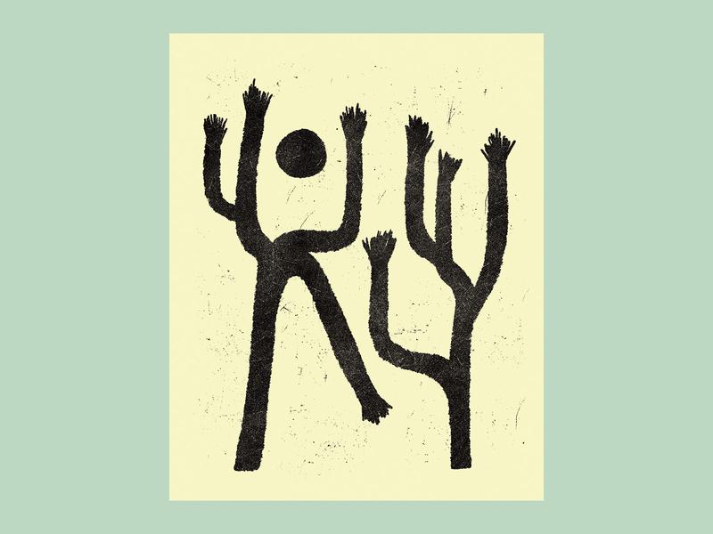 Joshua Tree Sketch 2