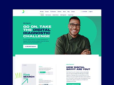 Skills Diagnostic marketing product web design website web ui