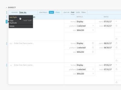 Contextual Controls menu contextual controls contextual controls ui