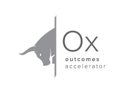 Ox Outcomes Accelerator Logo bull vector logo ox