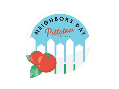 Neighbors Day  vector seal logo neighbors neighbor