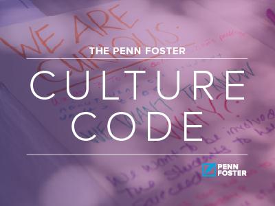 Penn Foster Culture Code employees values culture company culture culturecode
