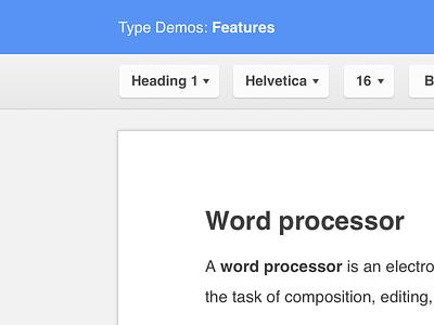 Clean Google Docs UI google docs text editor button ui