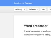 Clean Google Docs UI