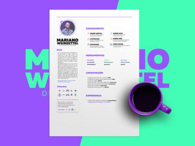 My Resume 2017 freelance designer graphicdesign work coffe print curriculum cv resume