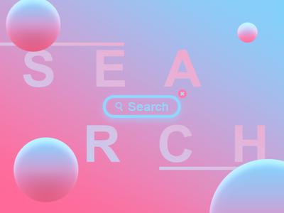 #DailyUi: #022 Search pink uiux search 022 dailyui