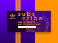 #DailyUi: #026 Subscribe
