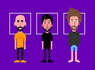 Lalo Lambda Characters design pixelartist podcast art podcast fun pixelart ilustración illustration animation animacion