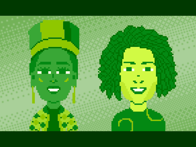 African People #2 360 mtv africa design pixelartist draw pixelart ilustración illustration