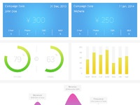 Crm dashboard my version