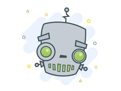 Robot practice illustration mad robot