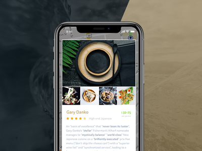 Restaurant Booking App animation xcode iphone food agency punch clean ios minimal booking