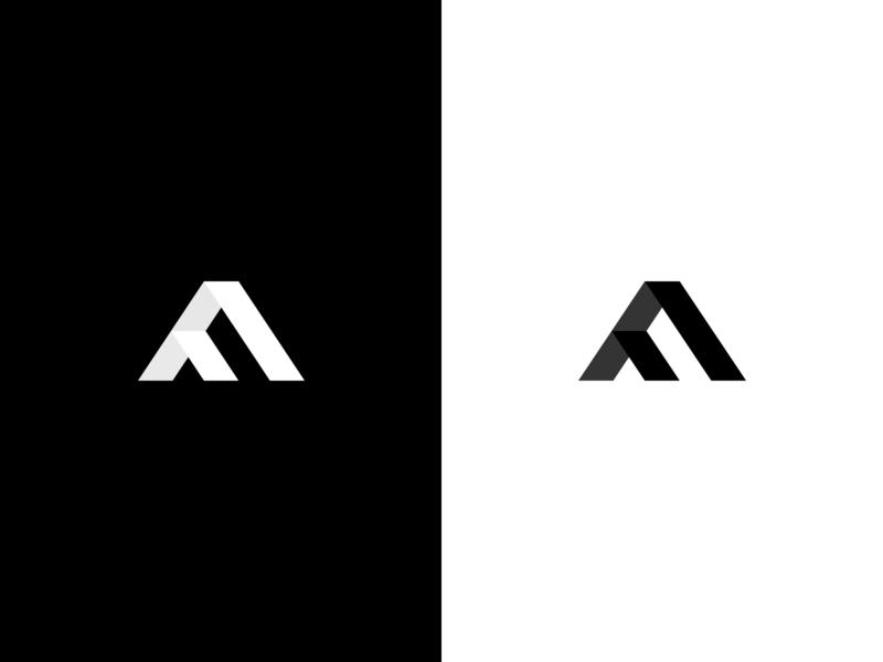 Logo Explorations clean web icon vector branding illustration design negative space logo