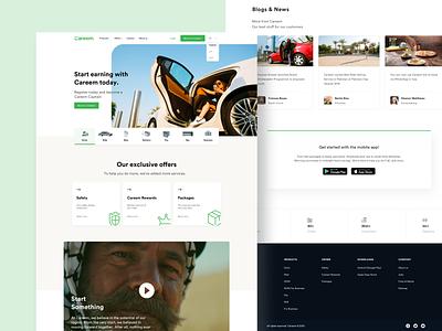 Landing Page Design venturedive redesign trendy animations agency webdesign website vector animation sleek ui ux clean minimal