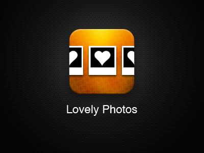 Lovely Photos App iOS Icon - Proposal photos icon ios gallery
