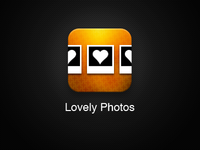 Lovely Photos App iOS Icon - Proposal