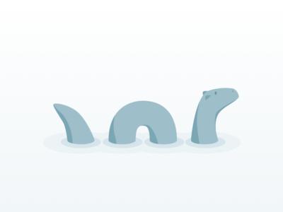 Meet Drake lochness dinosaur water character