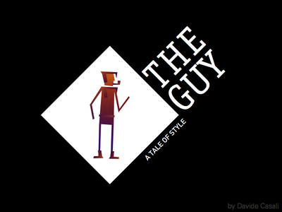 The Guy, A Tale Of Style character noir