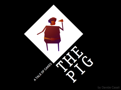 The Pig, A Tale Of Cakes character noir