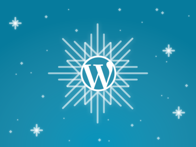 WordPress Snowflake snowflake newyear winter wordpress
