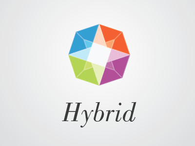 Hybrid related logo