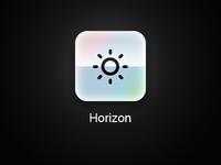 Horizon App iOS Icon - Remake
