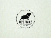 Pig's Pearls Logotype