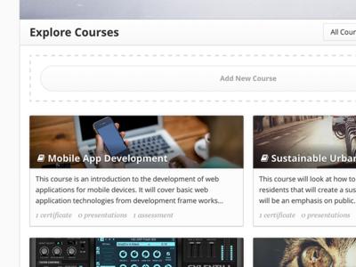 Courses 1