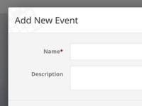 Events Admin New