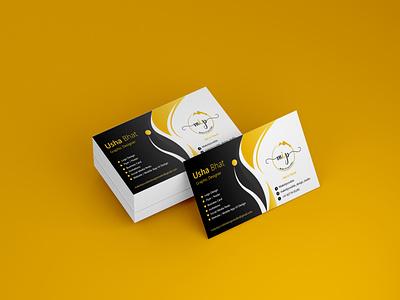 Business Card Design branding freelance designer ui mockup business business card design