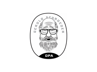 Another Opa Version portrait illustration