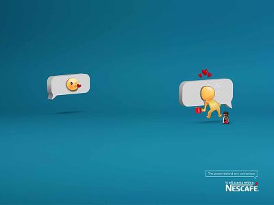 Nescafe Emojis chriswalkman vector socialmedia publicidad nescafe ogilvy illustration freelance content kaffee coffee advertising