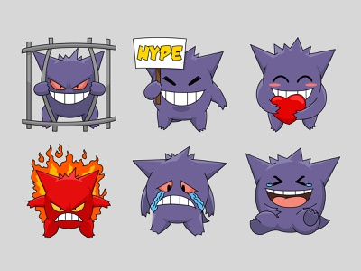 Twitch Emotes expression laugh icon love sad angry youtube discord game badges sub badge emoji pokemon chibi cute ganger illustration cartoon emotes twitch