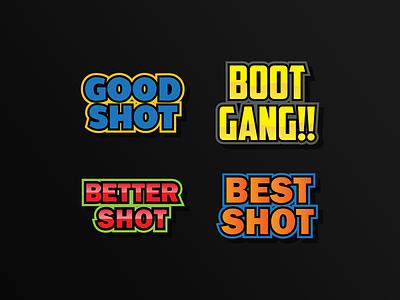 Text emote illustration cartoon streamer sub badges emoji game badges emotestwitch emote text