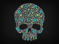Sugar Skull Flora