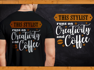 This Stylist run on Creativity and coffee