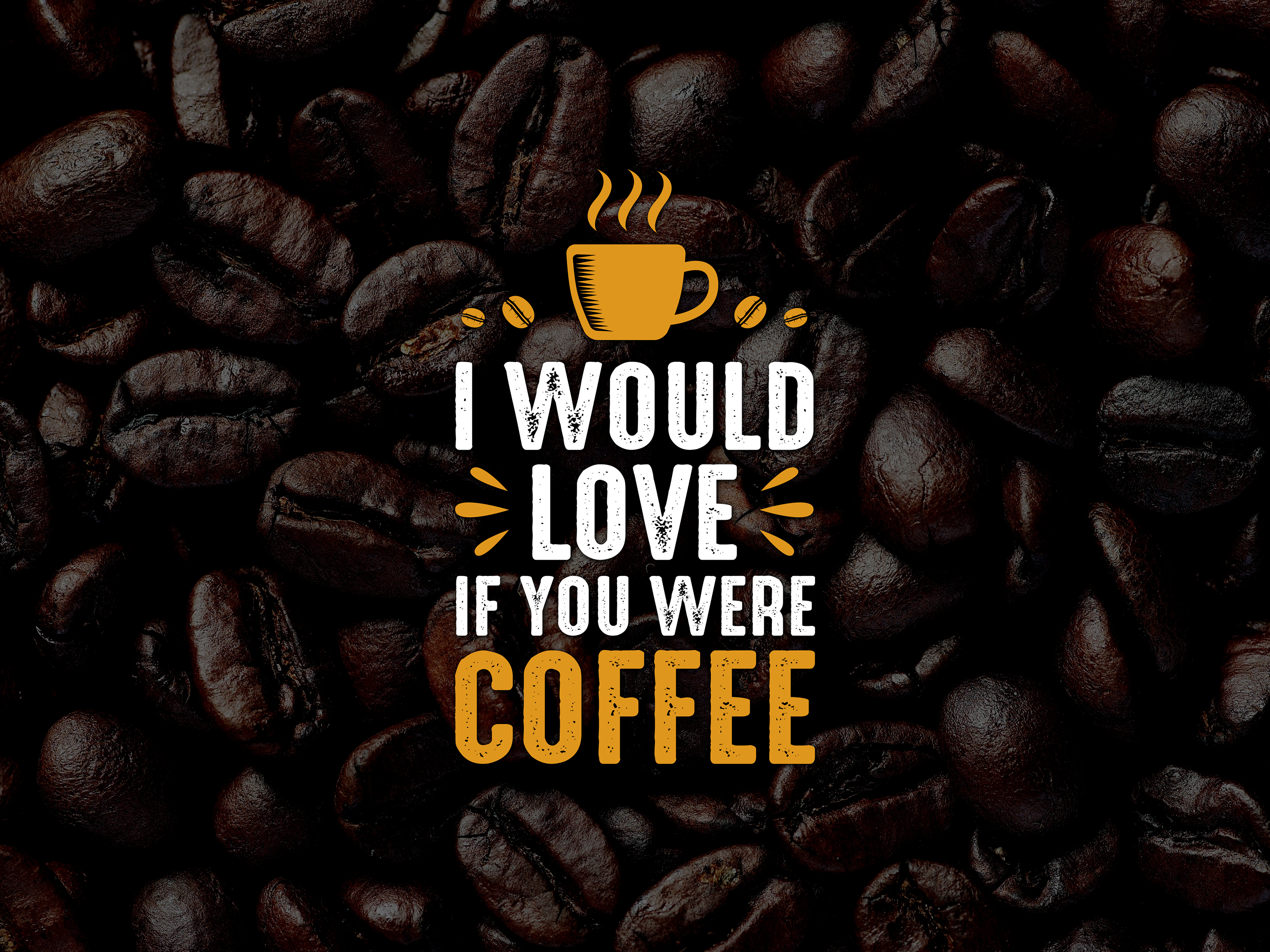 coffee quote and saying by tosca digital on dribbble