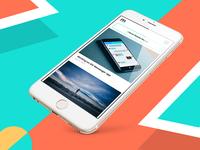 mobile.design app design concept