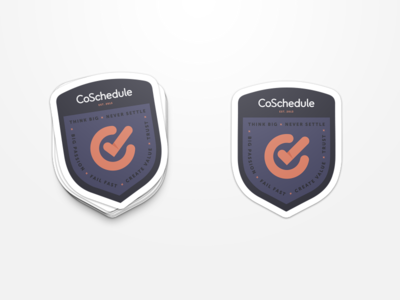 CoSchedule Stickers