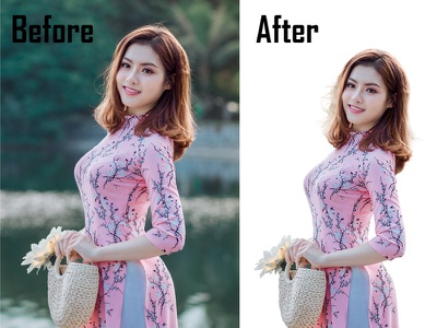 Background remove and Hair masking ecommerceediting ecommerce clipingpath masking background 3d
