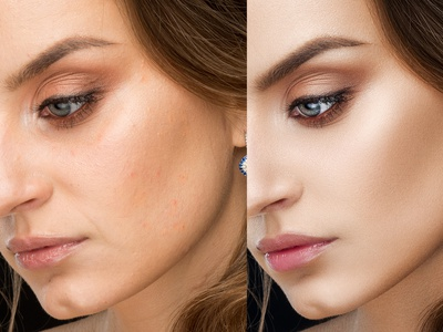Beauty Retouch color collectio editing retouch