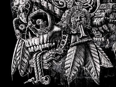 Aztec Great Lizard Warrior (Triceratops)