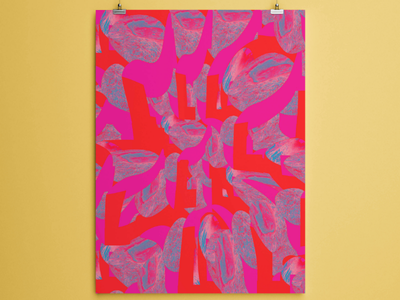 "Freebie -""Red and blue iced cubes pattern"" colored pattern colors flashy colors illustration illustrator abstract pattern pattern i love freebies free stuff freebies freebie"