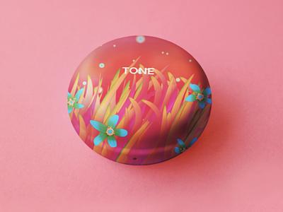 Creative design for LG Tone Free campaign wirelessheadphone visual identity product design packaging object design illustrator illustration graphic design design branding bird animal