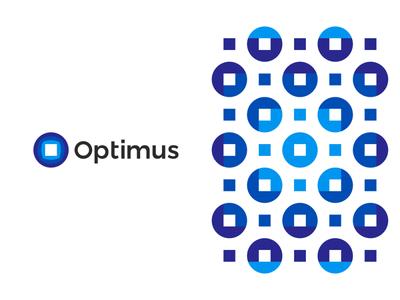 Optimus, logo design for tech / engineering company